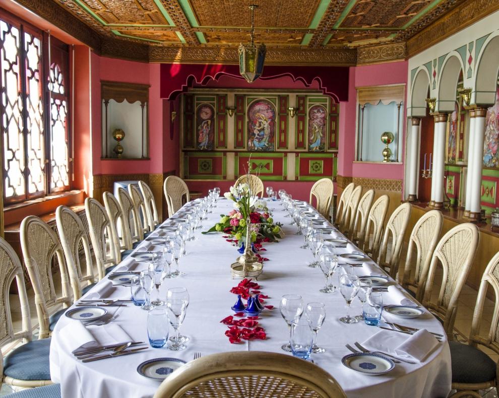 restaurant le palais oriental - montreux